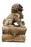 Löwestatue, Symbol des Schutzes und Energie Lizenzfreies Stockfoto