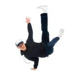 Lúpulo dancer.breakdance do quadril imagens de stock