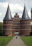 Lübeck stock afbeelding
