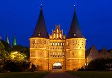 Lübeck, Alemania. Imagen de archivo