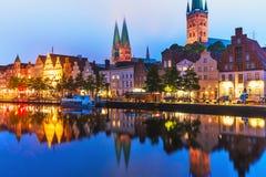Lübeck, Allemagne Image libre de droits
