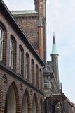 Lübeck deutschland lizenzfreies stockbild
