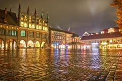 Lübeck, Deutschland - 12. November 2016: Quadrat von Lübeck in Deutschland Stockbilder
