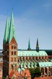 Lübecker Marienkirche Imagenes de archivo