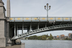 Lüttich, Le Pont de Fragnée Stockfotos