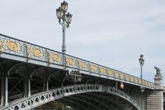 Lüttich, Le Pont de Fragnée Lizenzfreie Stockfotos