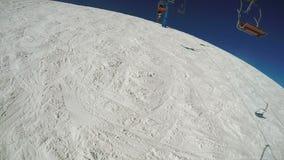 Lądować od narciarskiego dźwignięcia zbiory