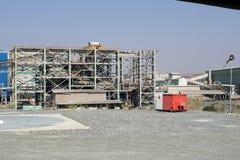 Lądowisko przy Najważniejszą diament kopalnią w Cullinan, Południowa Afryka Fotografia Stock