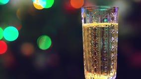 lśnienia szklany wino zbiory wideo