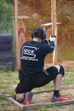 L'†« Juuli 25-26, IPSC de l'Estonie estonien ouvrent le championnat 2015 Photo stock