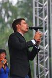 L'†de Stanislav Piatrasovich Piekha (Stas Piekha)» est un chanteur et un acteur populaire russe, et le petit-fils d'Edita Piek photo stock