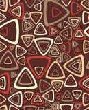 L'échantillon d'un fond avec des triangles. Vecteur Illustration Libre de Droits