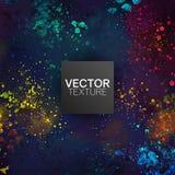 L'éclaboussure peinte colorée grunge repère le fond de vecteur illustration de vecteur