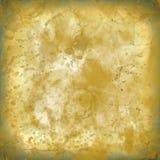 L'éclaboussure a souillé le vieux fond de papier de texture usée jaune aucun I illustration stock