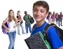 L'école badine la diversité Images libres de droits