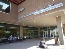 L'école de Walter Cronkite du journalisme Photo libre de droits
