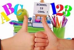 L'école est fraîche Photographie stock libre de droits
