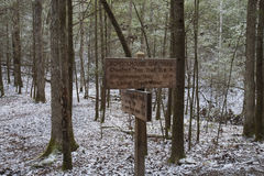 L'école Gap traînent, Great Smoky Mountains NP, TN Image stock