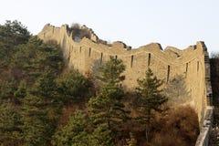 L'écologie originale du passage de Grande Muraille Images stock