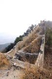 L'écologie originale du passage de Grande Muraille Photographie stock libre de droits