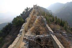 L'écologie originale du passage de Grande Muraille Photo libre de droits