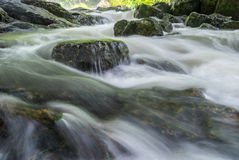 L'écoulement de l'eau Photographie stock libre de droits