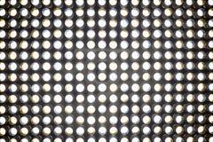 L'écran léger mené un écran emploie le panneau d'affichage luminescent électrique Images libres de droits