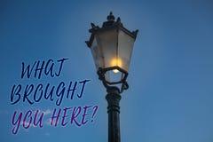 L'écriture des textes d'écriture ce qui a apporté vous interrogez ici L'ambition de signification de concept peut être obtiennent Photo libre de droits