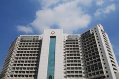 L'édifice d'hôpital Photographie stock libre de droits