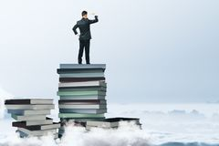 L'éducation et pensent le concept Images stock