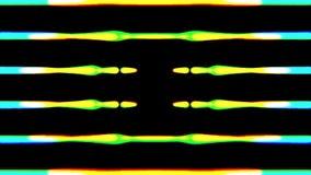 L'égaliseur audio raye l'impulsion lignes palpitantes images libres de droits