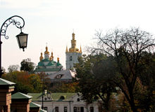 L'église à Kiev Images libres de droits