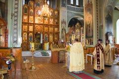 L'église. Images libres de droits