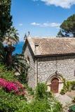 L'Église Anglicane de St George, Taormina, Sicile photos stock