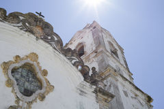L'église antique de Lagos au Portugal Images libres de droits