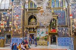 L'église arménienne à Jérusalem Image stock