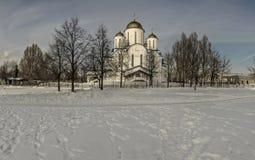 L'église au nom de l'orthodoxie Image stock