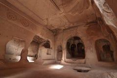L'église avec du raisin dans le zelve, cappadocia Image stock