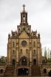L'église catholique - cathédrale sacrée de coeur, kostel, Tashkent image stock