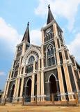 L'église catholique Maephra Patisonti Niramon images libres de droits