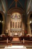 L'église changent et choeur fortement décoré d'abside de Wilton image libre de droits