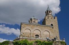 L'église chez Tsarevets Photo libre de droits