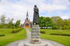 L'église commémorative de grand pré Photo stock