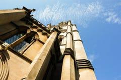 L'église d'abbaye du saint Peter et Paul à Bath Image libre de droits