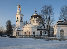 L'église d'Alexander Nevsky Photos libres de droits