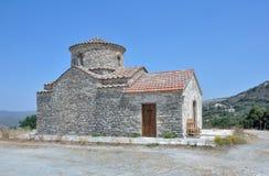 L'église d'Arkhangel Michael, Lefkara Photographie stock libre de droits