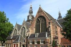 L'église d'Oude Kerk, Amsterdam Image stock