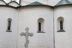L'église dans le monastère de sauveur des steuthymias, suzdal, Russie images libres de droits