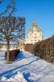 L'église dans Peterhof Photo libre de droits