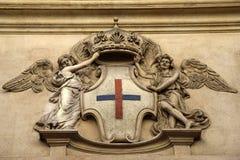 L'église de l'alle Quattro Fontane, église de San Carlo de Rome, par Francesco Borromini photographie stock